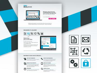 Dealbase Launch Page web launch page launchpage landingpage design ui app launch website user interface dealbase