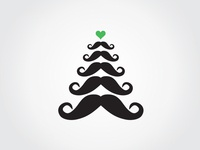 Merry Moustachy Christmas
