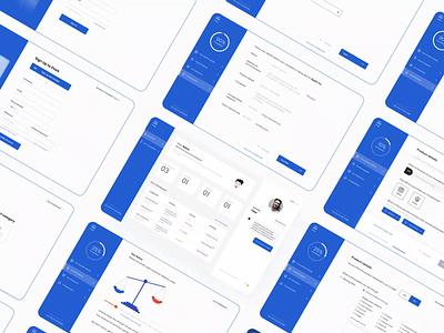 Consumer Complaint Platform - Interface Design mobile minimal consumer cards web app website webdesign uiux forms animation illustration login sign up ux complaint dashboard clean ui