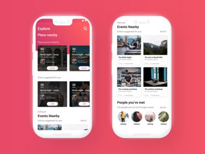 Home Screen - Kloh App