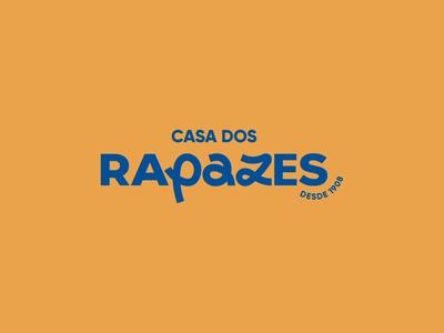 Visual identity - Casa dos Rapazes - animated