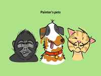 Painter's Pet