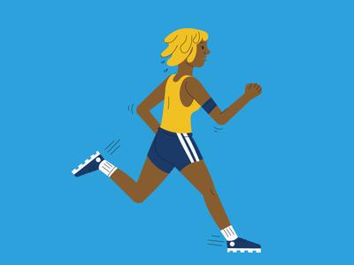 Runner - human pattern