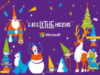 Santa's Little Helpers -  the xmas gang