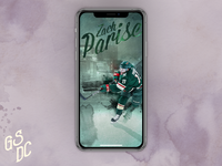 Zach Parise Phone Wallpaper