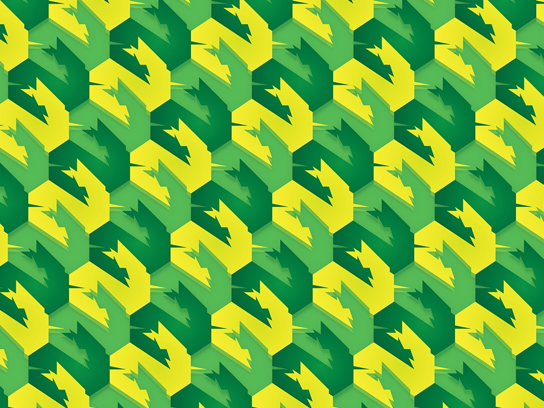Lagos africa lagos green yellow illustration pattern