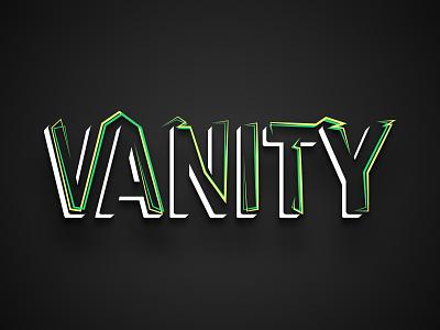 Vanity font logo wordmark typography typo vanity