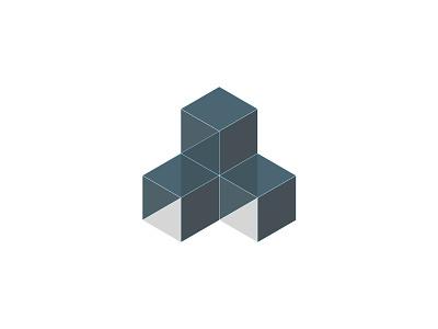 Pure cubes cube 3d icon design pure icon