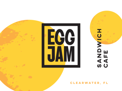 Eggjam Sandwich Cafe Branding