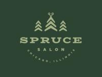 Spruce Salon Branding