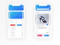 E Commerce iPhone X Concept