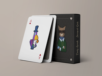 Dandy Animals Playing Cards