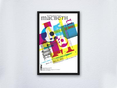 Macbeth Bradbury Thompson Dribbble art show bradbury thompson graphic design photoshop illustrator adobe student modern design poster byui print