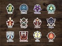 Class Emblem Stickers