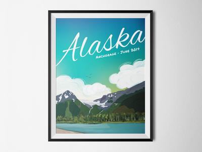 Travel Posters | Alaska