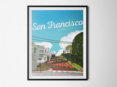 Travel Posters | San Francisco