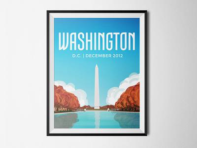 Travel Posters | Washington DC
