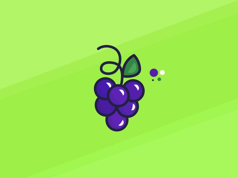 Grapes food doodle fruit grapes
