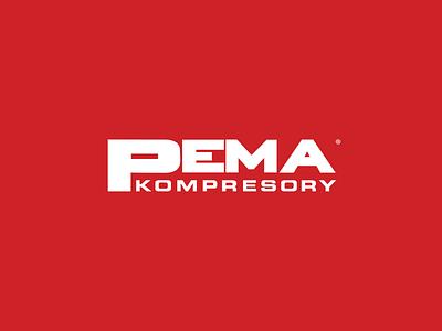PEMA Kompresory branding vector corporate identit logotype logo