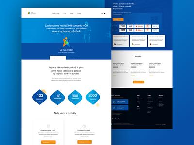 HRForum - People Management Forum ux webdesign flat responsive design
