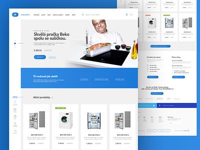 DobréElektro logotype ux ui branding ecommerce eshop webdesign website responsive design