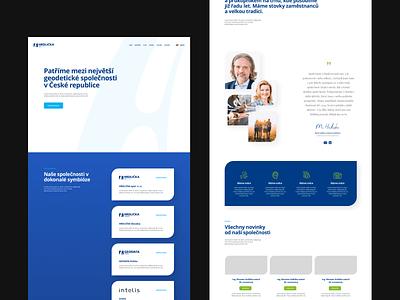 Hrdlička Holding webflow ux ui flat webdesign website responsive design
