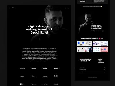 Pavel Svejda webflow logo flat webdesign website responsive design