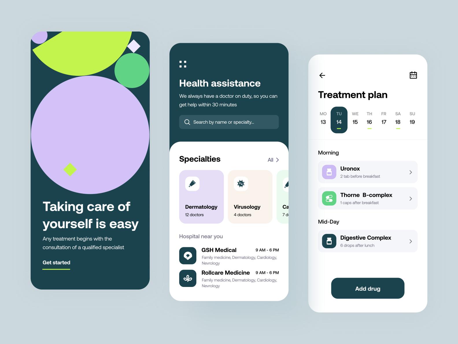 Medex - Mobile app