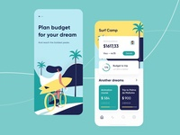 Budget planner - Mobile concept