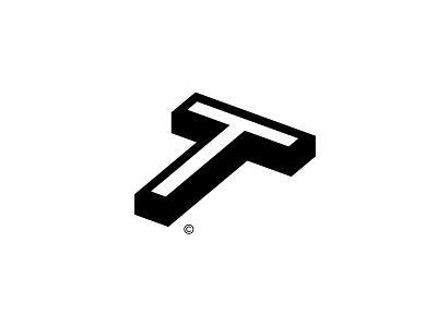 T t logomark letters lettermark logo design symbol typography logotype mark logo