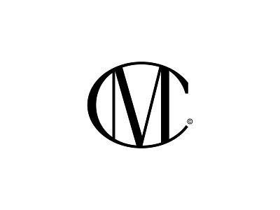 CM m c letters logomark lettermark logo design symbol monogram typography logotype mark logo