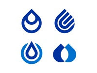Drop/Water Logo Marks