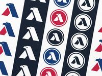 A + Eagle Logo