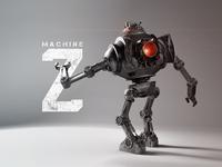 Machine Z • 3D Model