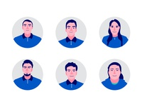 Team avatars