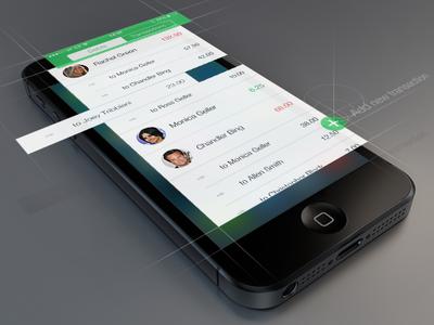 SettleApp (iOS 7)