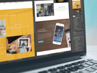 Angee Landing Page