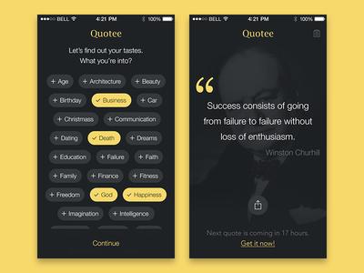 Quotee App