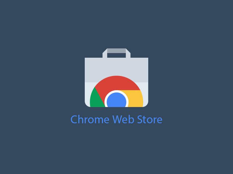 Chrome Web Store - Free PSD free freebie psd free psd google chrome