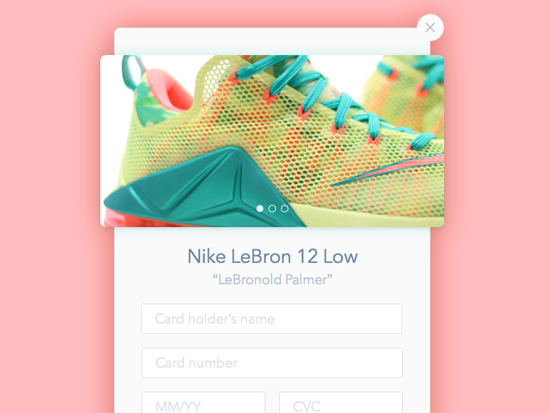 Daily UI: Day 2 - Credit Card Checkout credit card buttons gradient form ui checkout dailyui