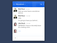 Daily UI: Day 13 - Direct Messages