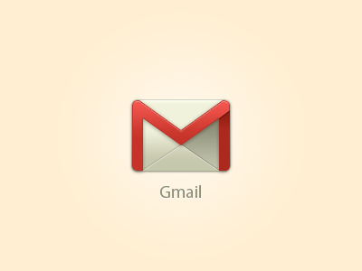 Gmail - Icon - FREE PSD free psd gmail icon ui vector icons google freebie download