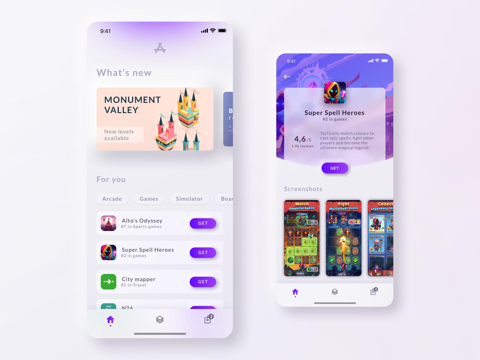 App Store concept V2