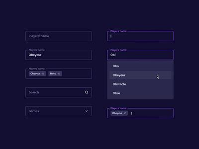 Dark mode inputs multiselect search fields erisium dark mode dark select form field inputs input