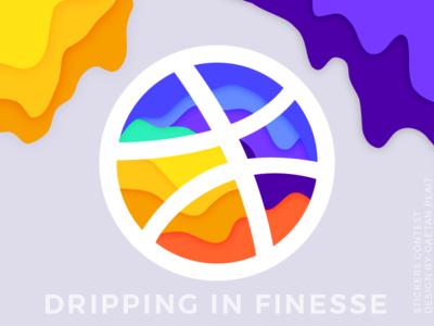 Dribbble Stickers Contest / Gaetan Plait