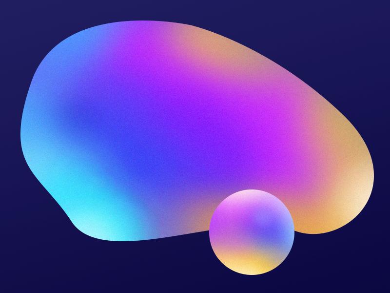 Gradient artwork for Erisium visual abstract brush shape color colors artwork gradient