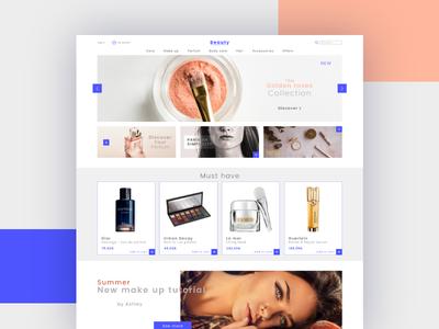 Beauty Store Concept