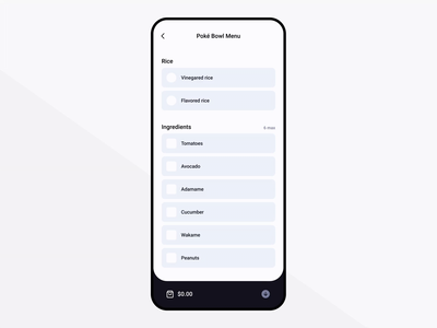 Food delivery app - Figma only figmadesign smart layout cart order delivery food interaction figma app design minimal modern concept ux ui
