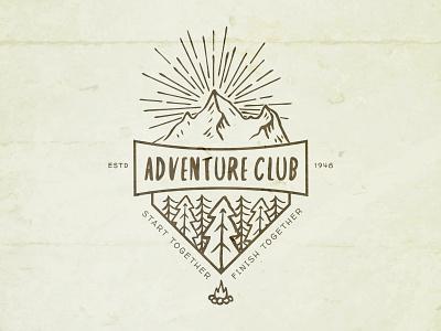 Adventure Club - Newsletter Logo