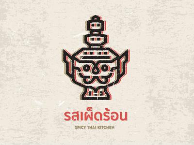 Spicy Thai Kitchen - Logo Concept
